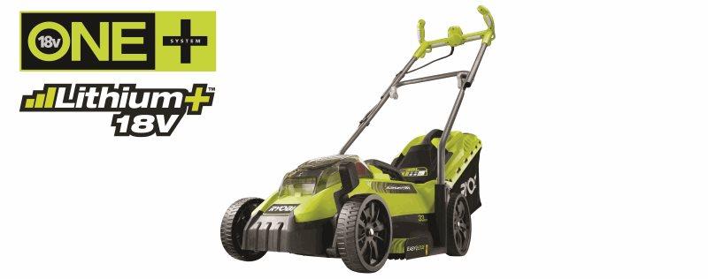Omtyckta Första ONE+ gräsklipparen som bara behöver ETT batteri! BS-84